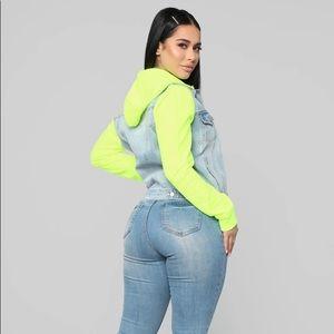 Fashion Nova Other - Fashion nova neon sweat suit